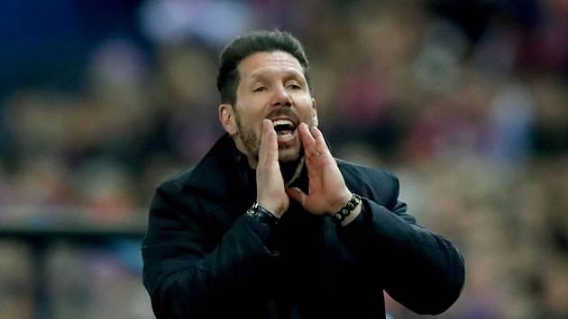 Diego Simeone, kouč Atlética Madrid