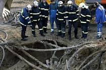 Dělníci při pokračující stavbě tunelu Blanka porušili u ústí Strahovského tunelu plynové potrubí. Tunel musel být proto uzavřen.