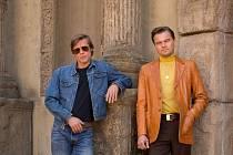 Tenkrát v Hollywoodu, V hlavních rolích Brad Pitt a Leonardo di Caprio
