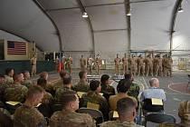 Česká armáda v Afghánistánu vystřídala 16. října 2019 jednotku střežící základnu Bagrám