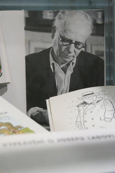 Josef Lada, výstava v Břeclavi
