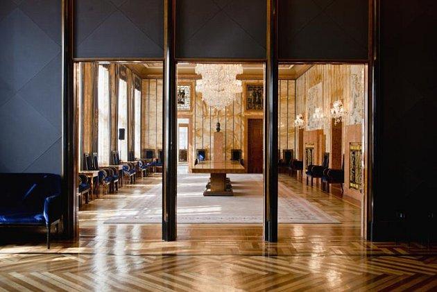 Interiér rezidence primátora hlavního města Praha