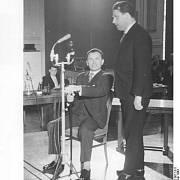 Alois Šiška v roce 1963 u soudu s tehdejším státním tajemníkem Úřadu spolkového kancléře SRN Hansem J. M. Globkem