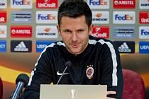 Trenér Sparty David Holoubek.