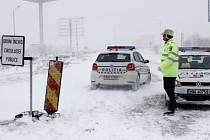 Sněhová bouře zasáhla i Rumunsko.