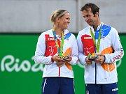 Lucie Hradecká a Radek Štěpánek, bronzový pár z olympijských her v Riu.