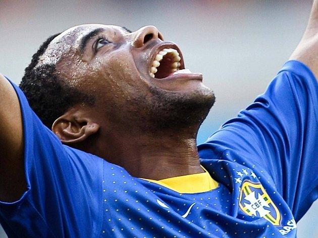 O jediný gól Brazílie proti Nizozemsku se postaral Robinho.