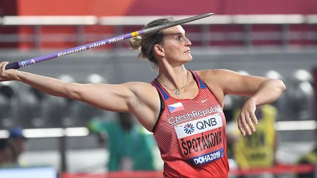 VĚRNÁ DUKLAČKA. Barbora Špotáková vybojovala na globálních soutěžích deset medailí. Všechny jako členka Dukly.
