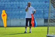 Trenér fotbalistů Slovenska Vladimír Weiss.