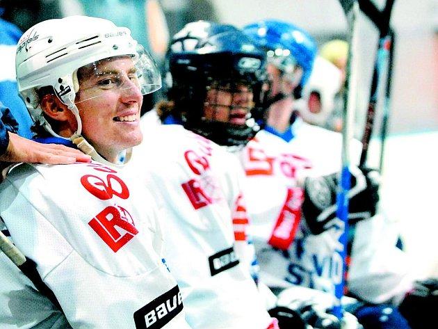 Hokejový útočník Tomáš Fleischmann.