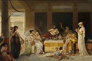 Joseph Coomans: Římský banket