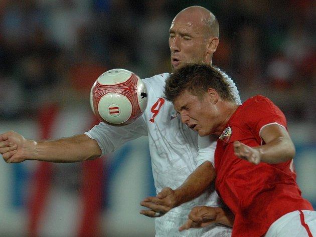 Jan Koller vstřelil jedinou branku českého týmu.