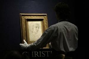Raffaelova kresba Hlava múzy byla 8. prosince vydražena za 29,16 milionu liber (asi 870 milionů korun)