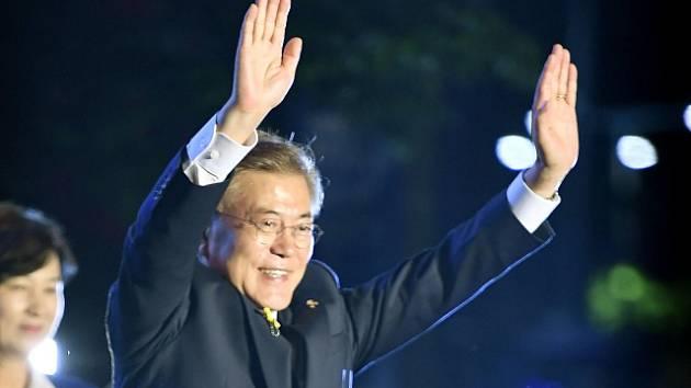 Prezident Jižní Koreje Mun Če-in.
