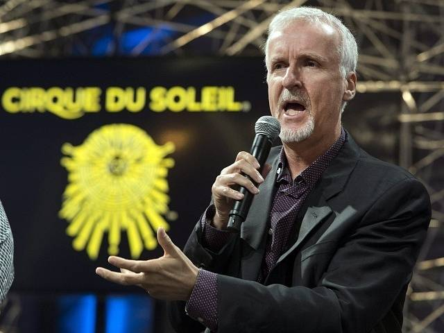 Filmař James Cameron.