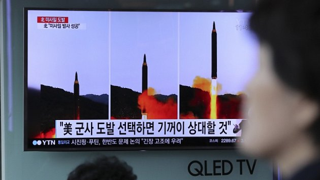 KLDR a test raket.