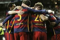 Obrovská radost. Barcelona uspěla na půdě Realu Madrid