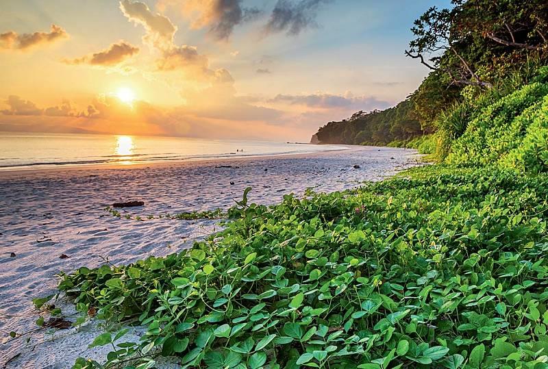 Trek naElephant Beach je jednou zmožností, jak vtropech nezlenivět.