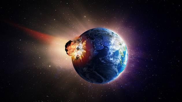 Srážka s vesmírným tělesem může mít pro Zemi katastrofální následky.
