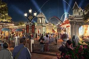 Zábavní park Six Flags Qiddiya nabídne návštěvníkům i supermoderní horskou dráhu…