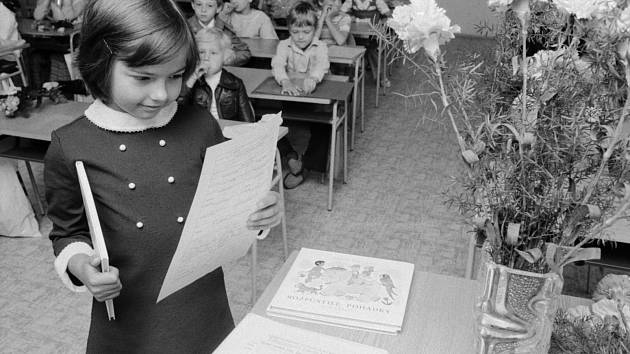 Vyučování ve školách před padesáti lety