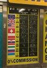 Malý podnik na stanici Můstek. Poplatek je nulový, kurzy jsou rovněž relativně v pořádku.