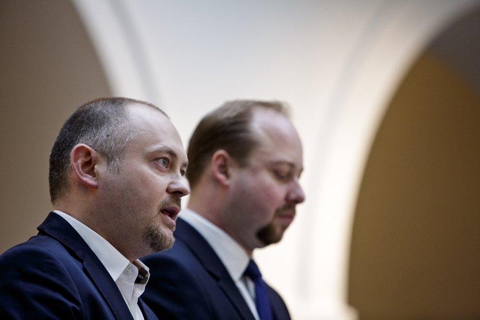 Michal Hašek a Jeroným Tejc.