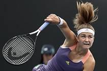 Česká tenistka Karolína Muchová ve 2. kole Australian Open.