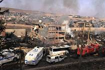 Podle úřadů byl útok v Turecku sebevražedný atentát