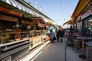Nasch-market ve Vídni.