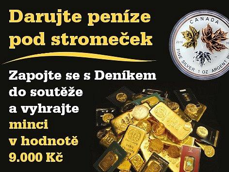Zapojte se s regionálním Deníkem do soutěže o velmi netradiční dárek od společnosti Zlaťáky.cz.