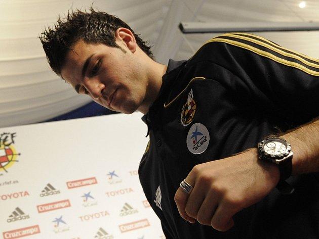 Talentovaný záložník španělské reprezentace a Arsenalu Cesc Fábregas.
