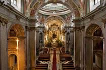 Bazilika Navštívení Panny Marie na Svatém Kopečku.