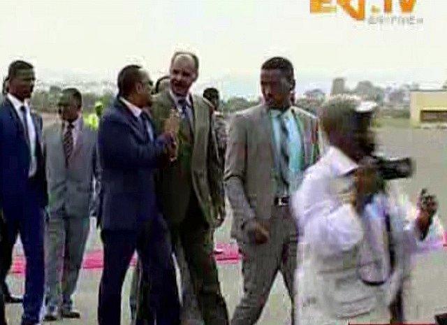 Etiopský premiér Abiy Ahmed a eritrejský prezident Isaias Afewerki