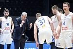 Čeští basketbalisté budou bojovat o olympiádu.