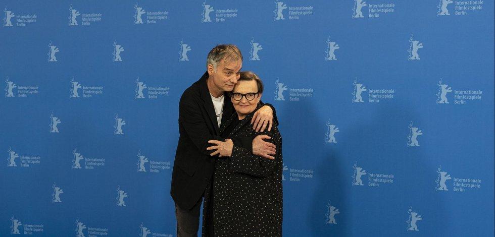 Ivan Trojana a Agnieszka Holland