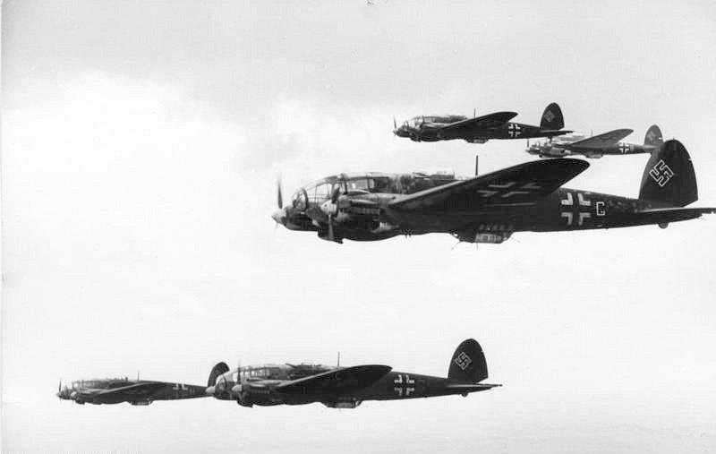 Formace bombardérů Heinkel He 111