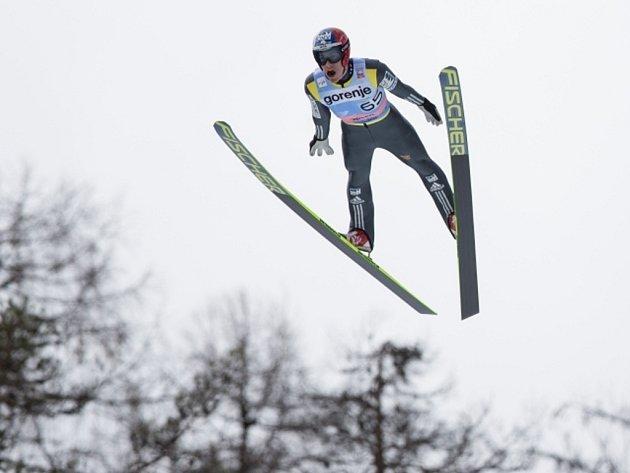 Jan Matura na Světovém poháru letech v Planici.
