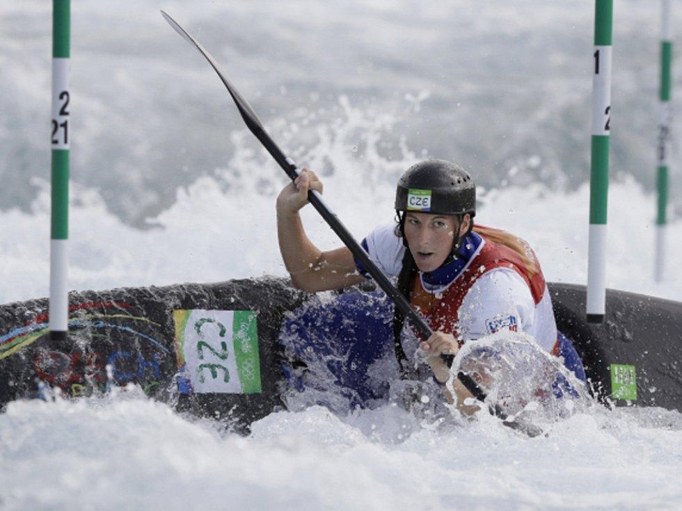 Kateřina Kudějová na olympijských hrách v Riu.