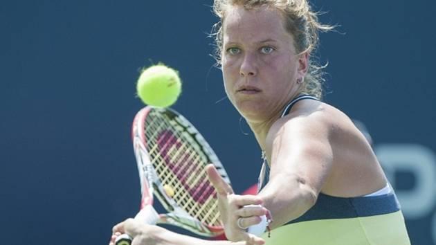 Barbora Záhlavová-Strýcová na turnaji v Montrealu.