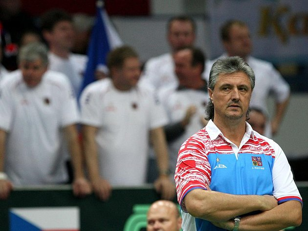 Kapitán české reprezentace Jaroslav Navrátil