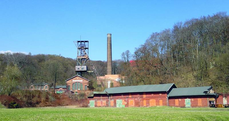 """Landek park. Největší hornické muzeum v České republice se řídí heslem """"Jednou nahoře, jednou (v) dole""""."""