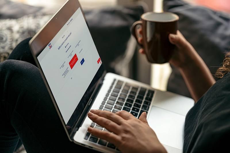 Lidé mohou provést sčítání pomocí elektronického formuláře.