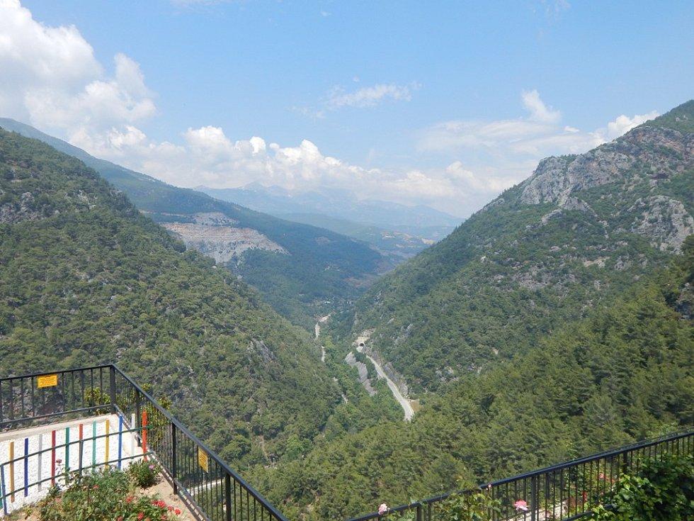 Alanya: hory v okolí