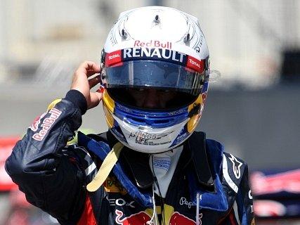Sebastien Vettel na VC Kanady.