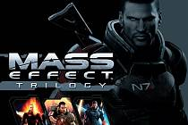 Počítačová hra Mass Effect Trilogy.