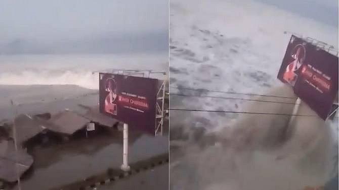 Město Palu na indonéském ostrově Sulawesi zasáhla tsunami