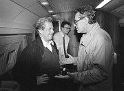 Miloš Forman s Václavem Havlem