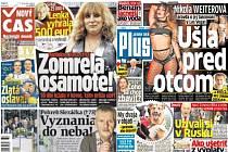 Slovenským vydavatelům klesl za pololetí prodej novin