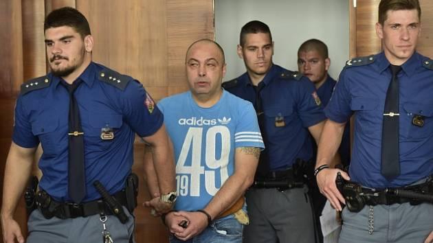 Petr Ryžák u pražského Vrchního soudu